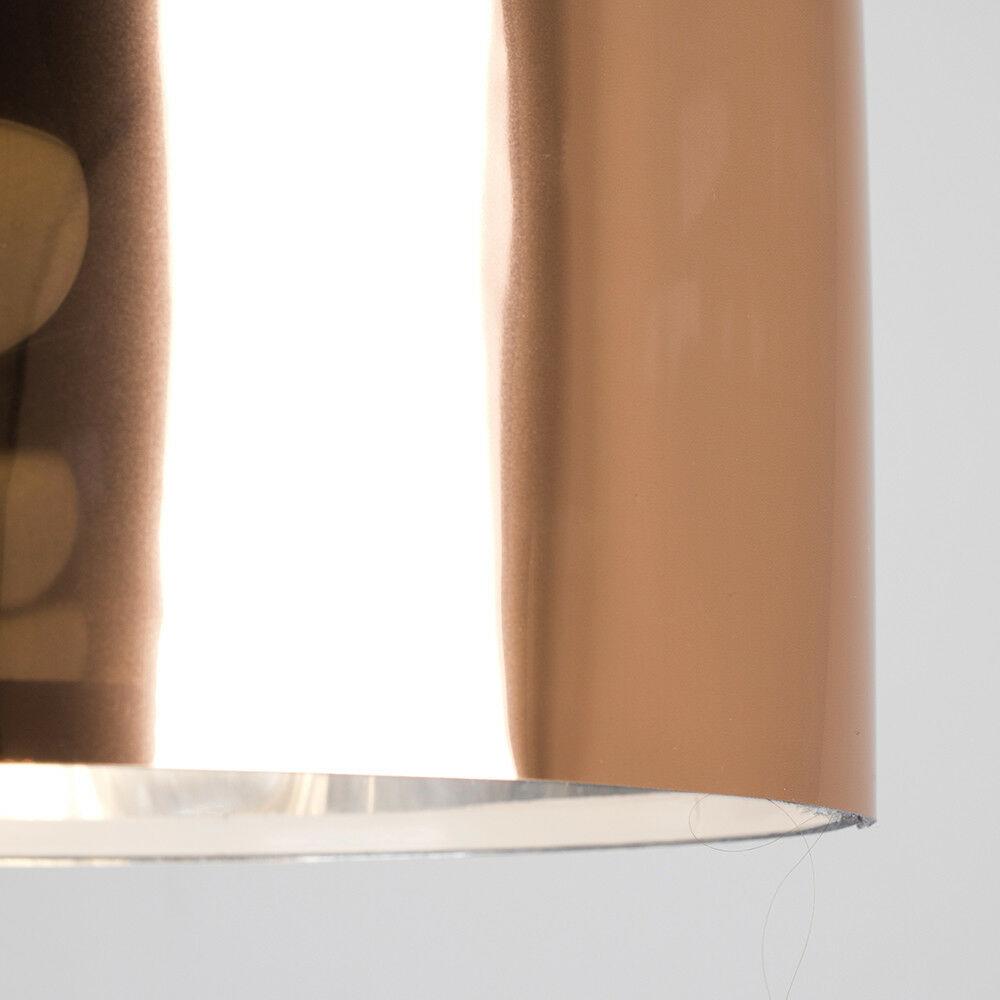 Modern-in-tessuto-cotone-Easy-Fit-Soffitto-Ciondolo-Luce-a-tamburo-Tonalita-Tavolo-Paralume miniatura 55