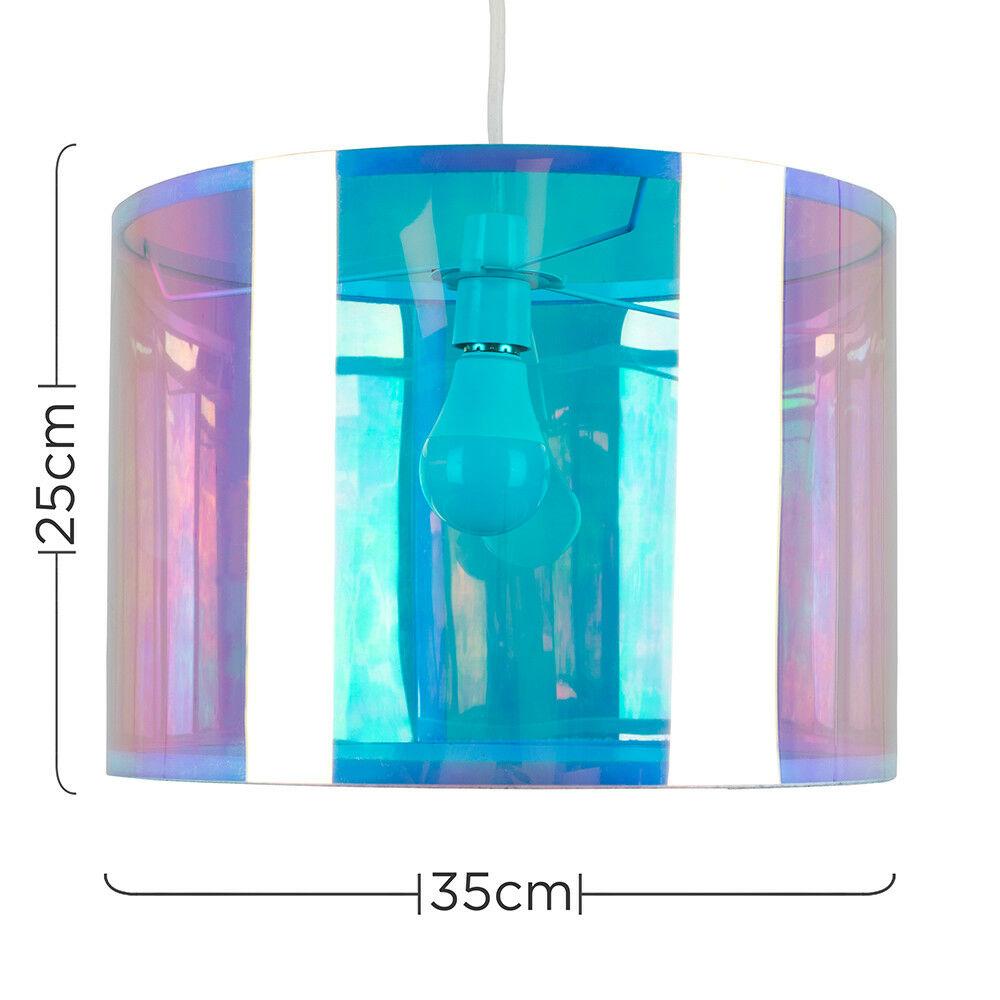 Tela-moderna-algodon-facil-ajuste-Techo-Colgante-Pantalla-De-Mesa-tonos-de-luz-de-tambor miniatura 175