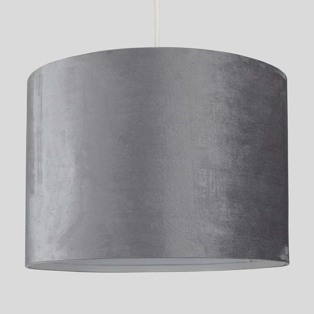 Tela-moderna-algodon-facil-ajuste-Techo-Colgante-Pantalla-De-Mesa-tonos-de-luz-de-tambor miniatura 153