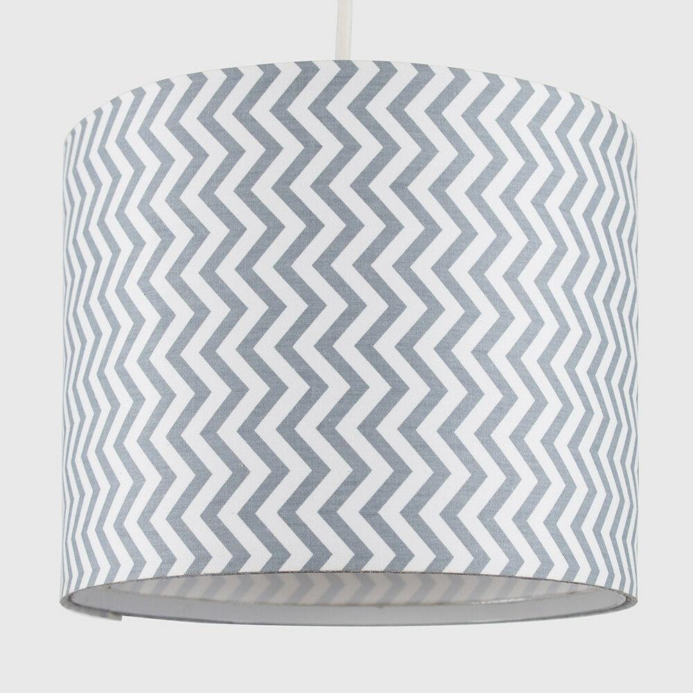 Tela-moderna-algodon-facil-ajuste-Techo-Colgante-Pantalla-De-Mesa-tonos-de-luz-de-tambor miniatura 250