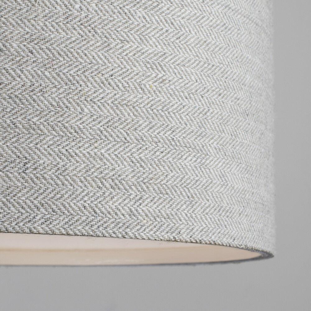 Tela-moderna-algodon-facil-ajuste-Techo-Colgante-Pantalla-De-Mesa-tonos-de-luz-de-tambor miniatura 165
