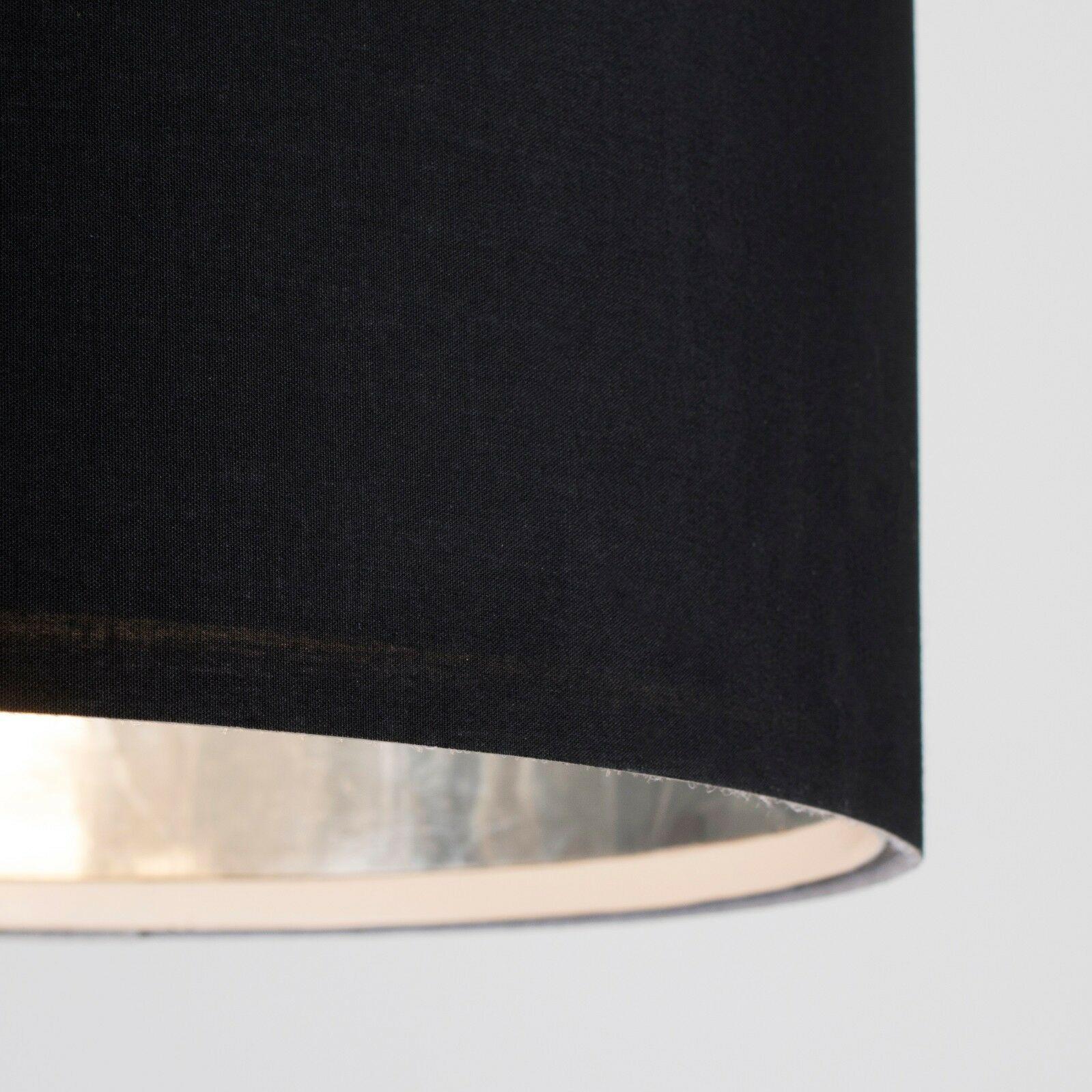 Tela-moderna-algodon-facil-ajuste-Techo-Colgante-Pantalla-De-Mesa-tonos-de-luz-de-tambor miniatura 25