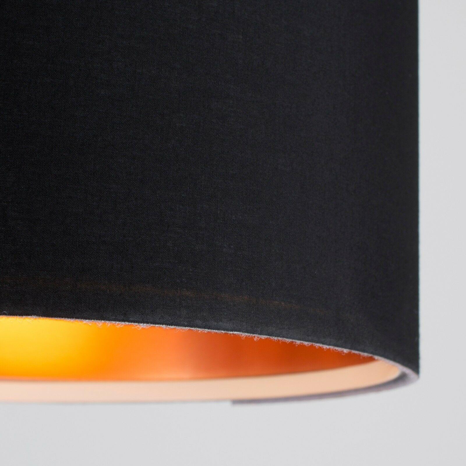 Tela-moderna-algodon-facil-ajuste-Techo-Colgante-Pantalla-De-Mesa-tonos-de-luz-de-tambor miniatura 35
