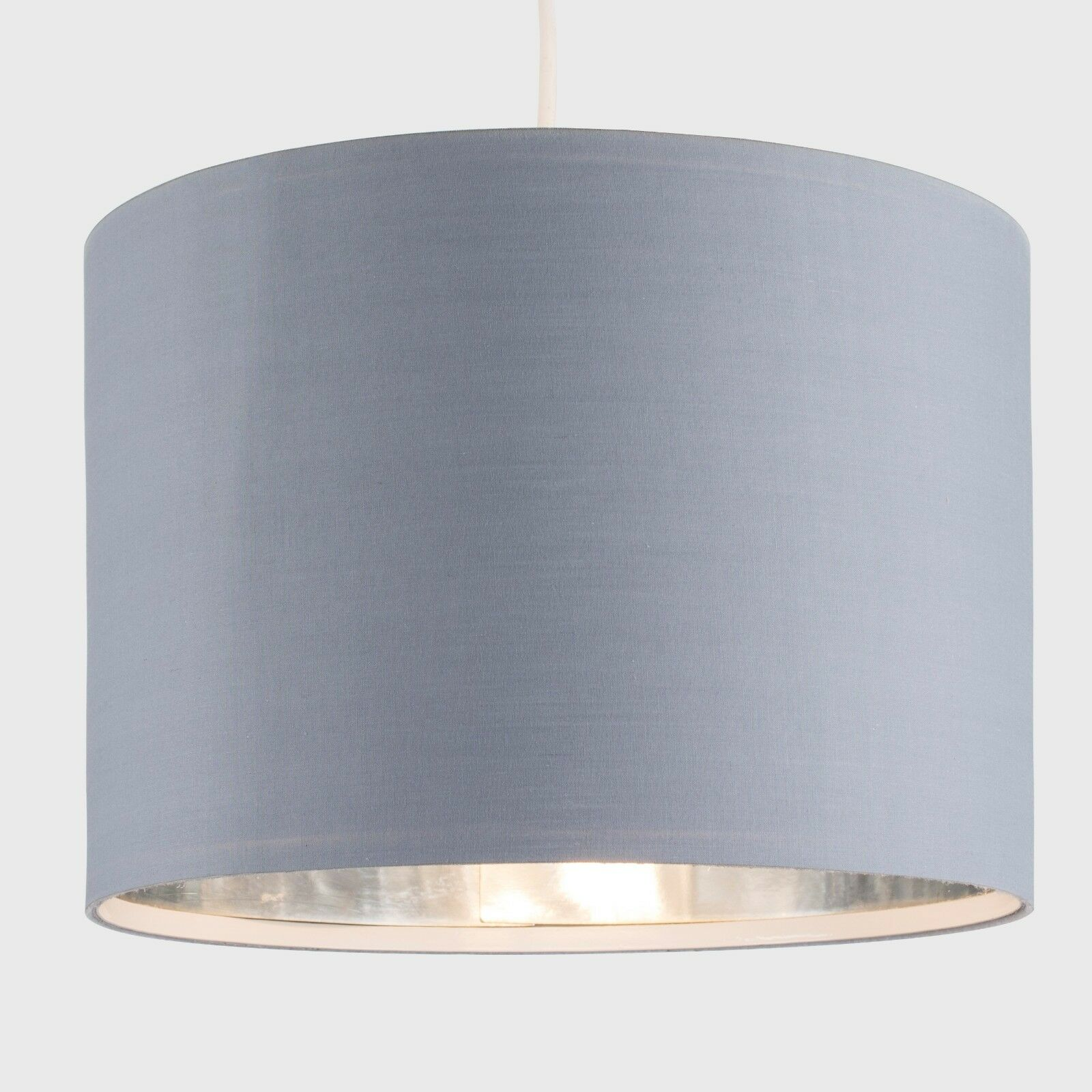 Tela-moderna-algodon-facil-ajuste-Techo-Colgante-Pantalla-De-Mesa-tonos-de-luz-de-tambor miniatura 122