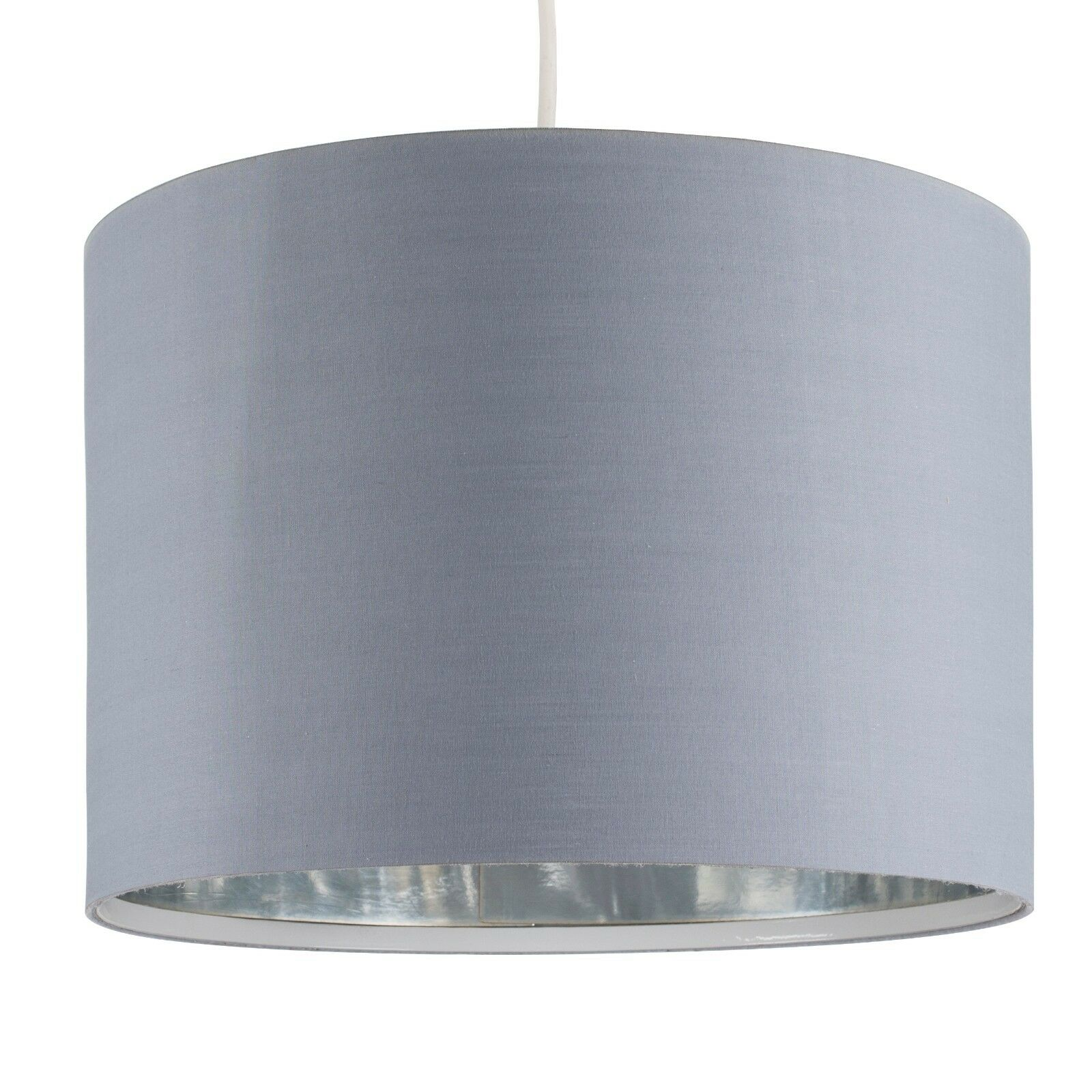 Tela-moderna-algodon-facil-ajuste-Techo-Colgante-Pantalla-De-Mesa-tonos-de-luz-de-tambor miniatura 120