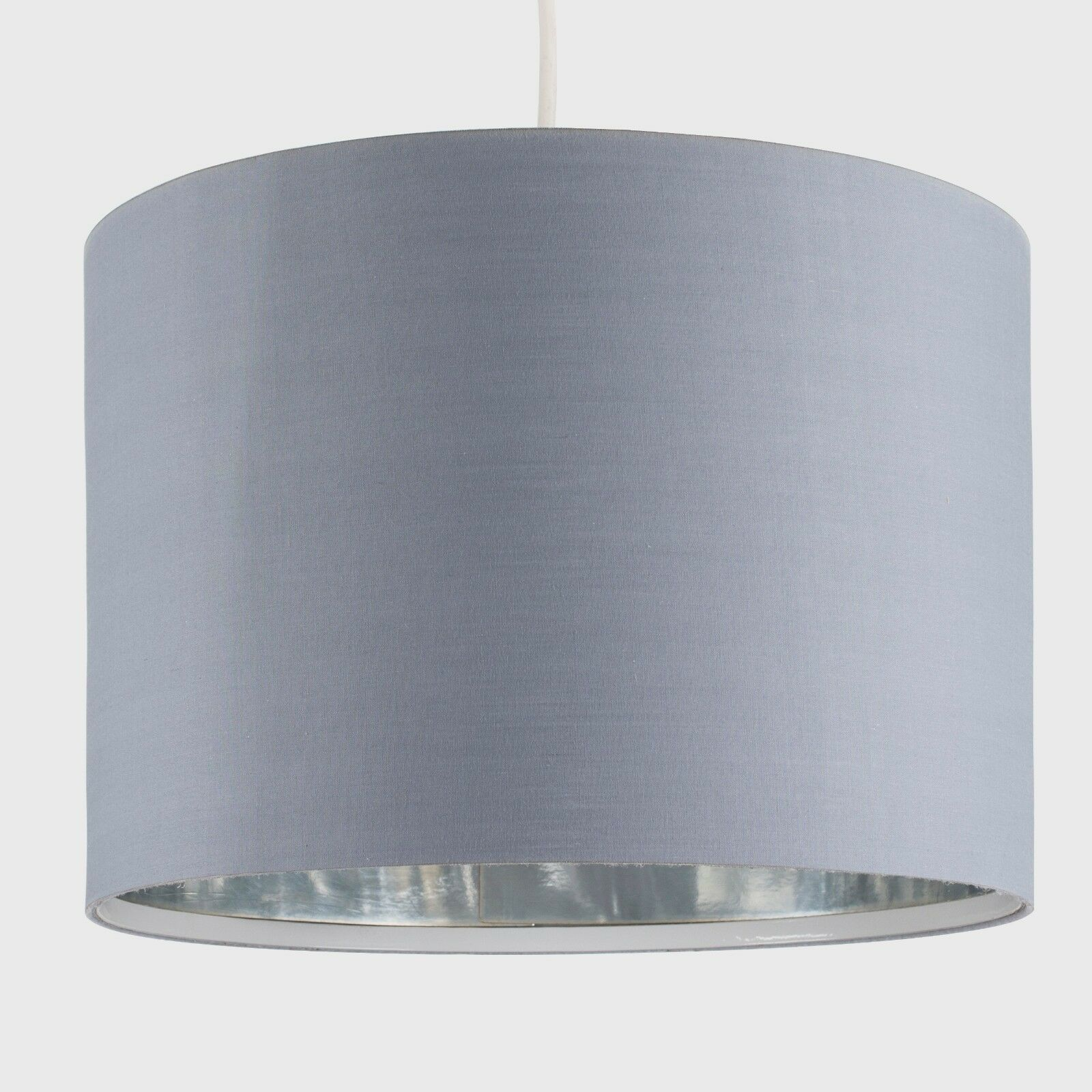 Tela-moderna-algodon-facil-ajuste-Techo-Colgante-Pantalla-De-Mesa-tonos-de-luz-de-tambor miniatura 121