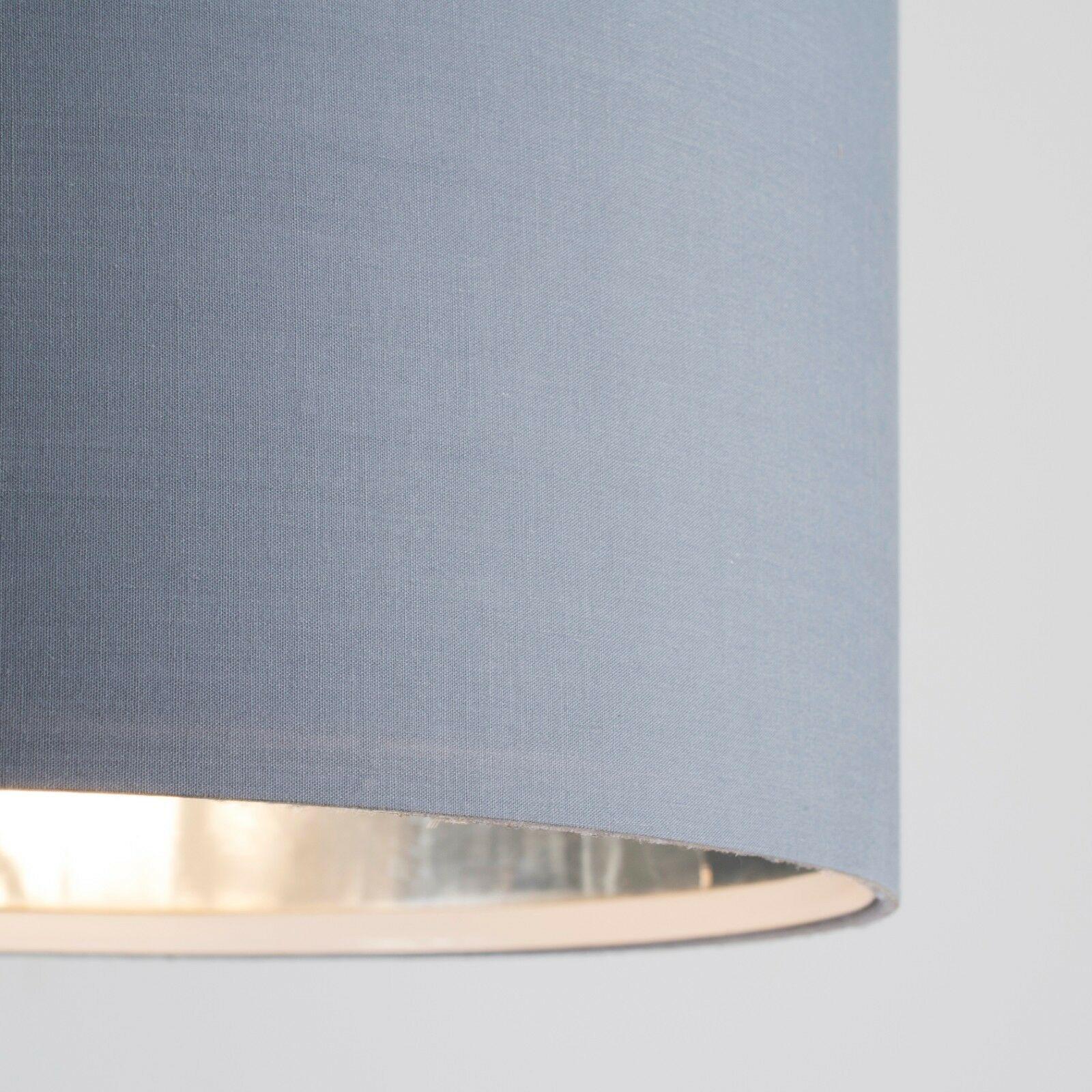 Tela-moderna-algodon-facil-ajuste-Techo-Colgante-Pantalla-De-Mesa-tonos-de-luz-de-tambor miniatura 123