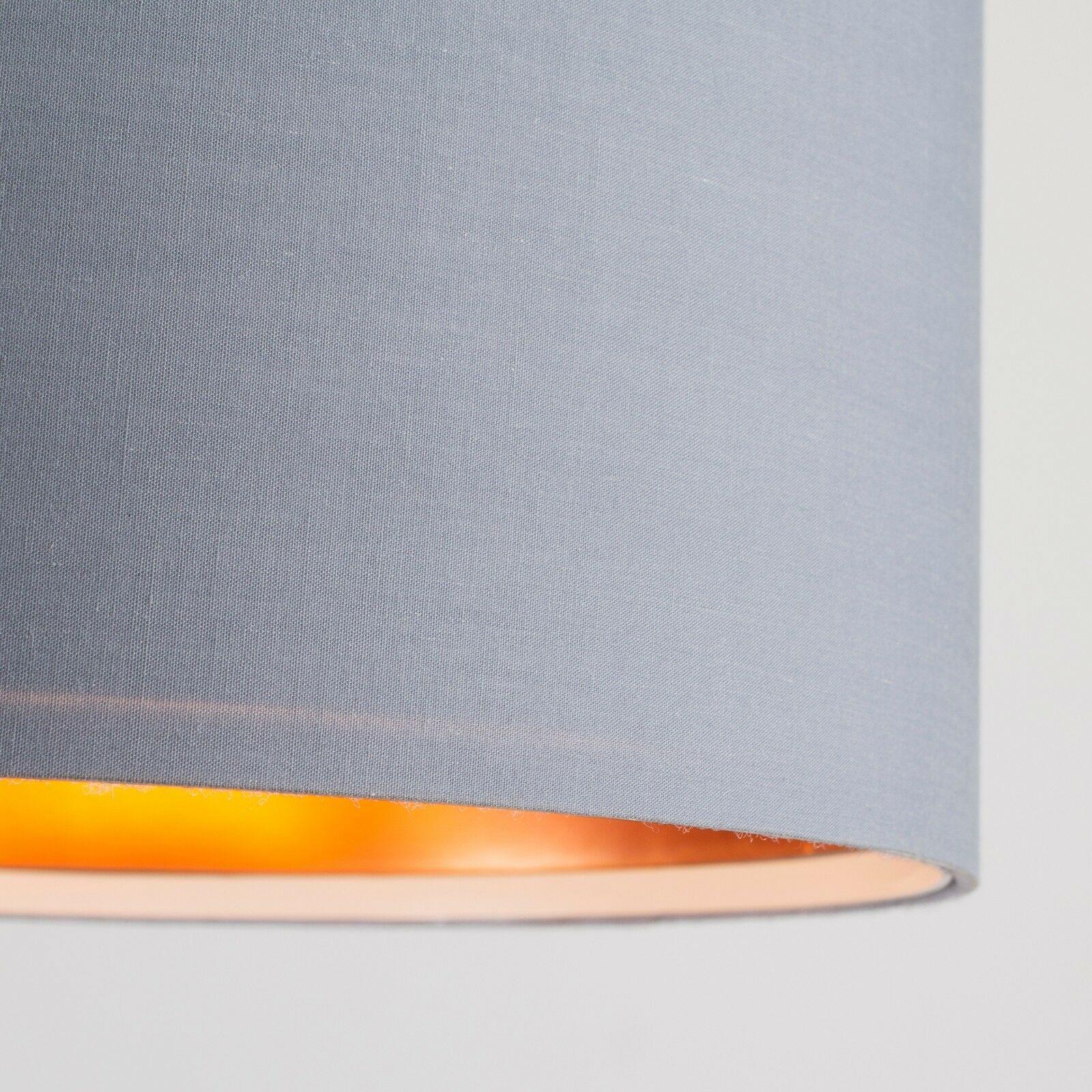 Tela-moderna-algodon-facil-ajuste-Techo-Colgante-Pantalla-De-Mesa-tonos-de-luz-de-tambor miniatura 133