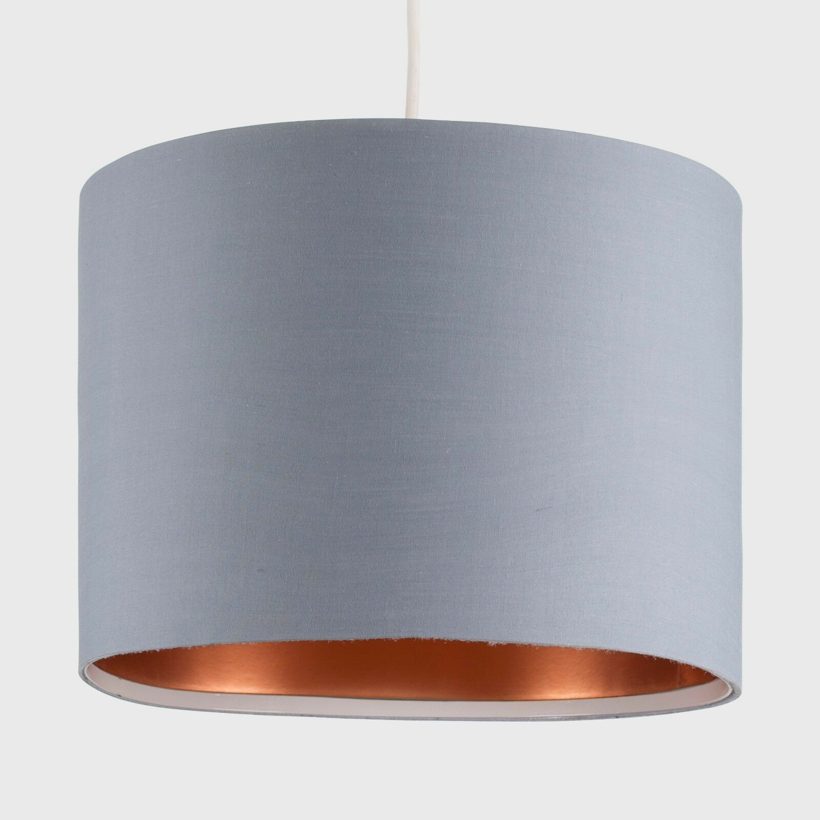 Tela-moderna-algodon-facil-ajuste-Techo-Colgante-Pantalla-De-Mesa-tonos-de-luz-de-tambor miniatura 131