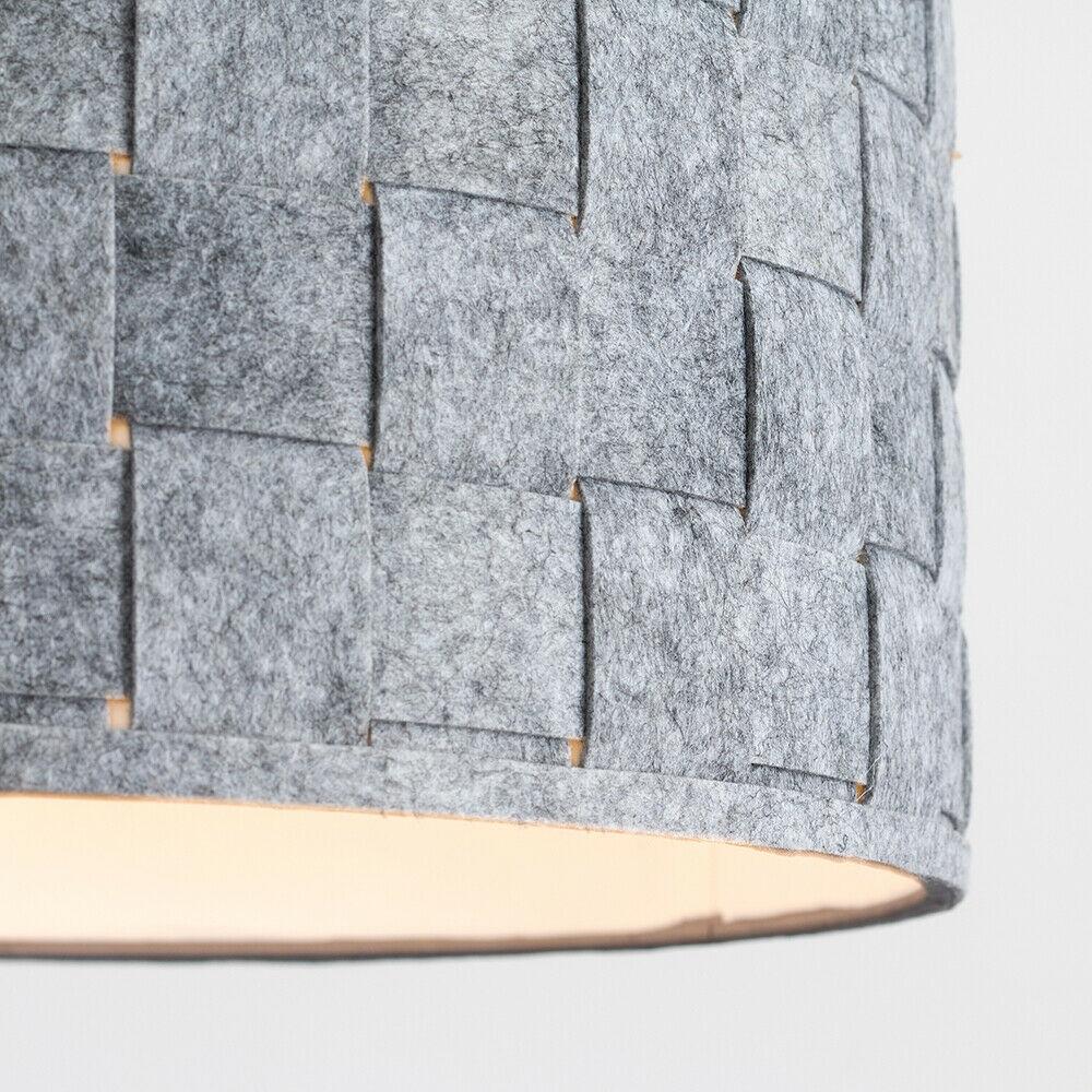 Tela-moderna-algodon-facil-ajuste-Techo-Colgante-Pantalla-De-Mesa-tonos-de-luz-de-tambor miniatura 146