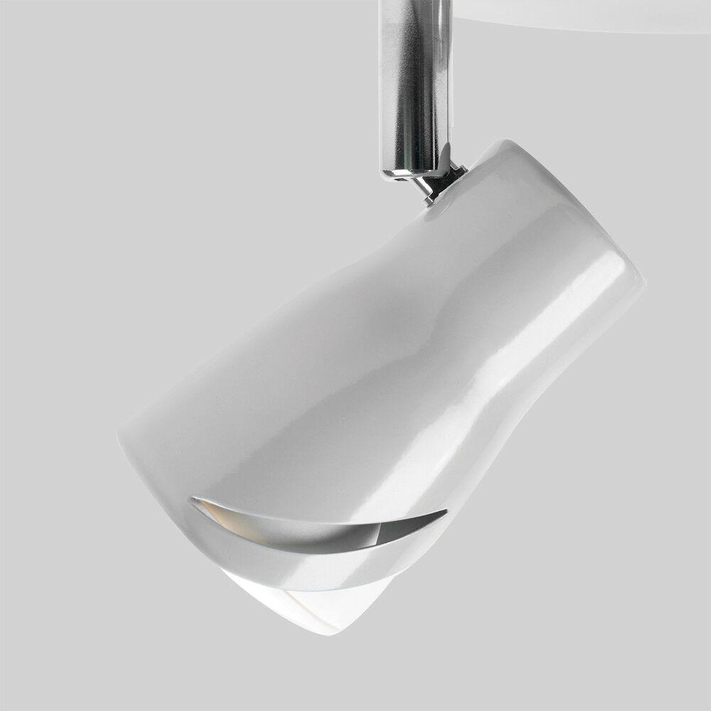Modern-3-Way-LED-GU10-Ceiling-Spot-Lights-Spotlights-Black-Chrome-Copper-Grey thumbnail 33