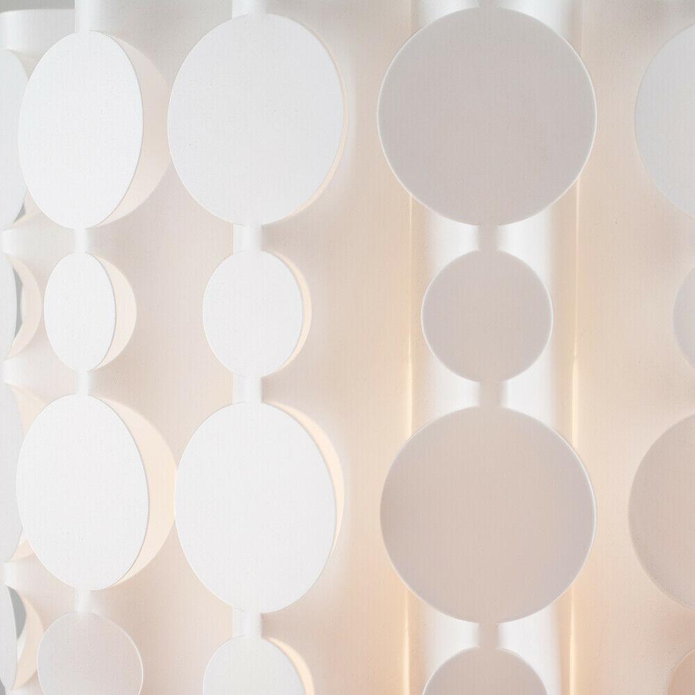 Tambor-Blanco-Moderno-Facil-Ajuste-Bombilla-LED-Pantalla-Luz-de-Techo-Colgante-Iluminacion miniatura 15