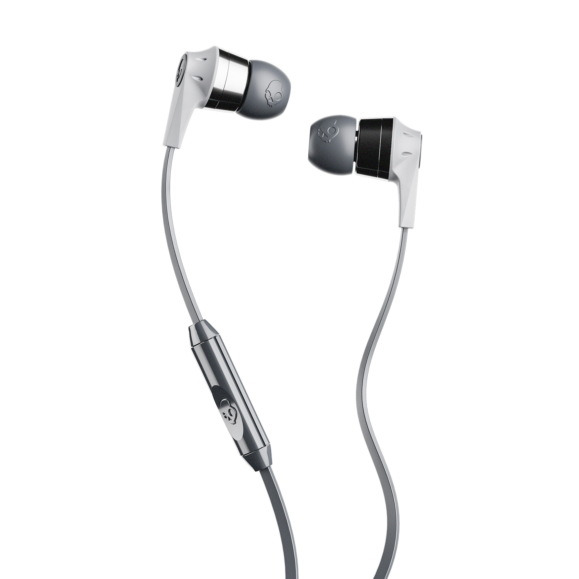 Skullcandy Ink D Earbuds With Microphone Street Grey 878615093119 Ebay