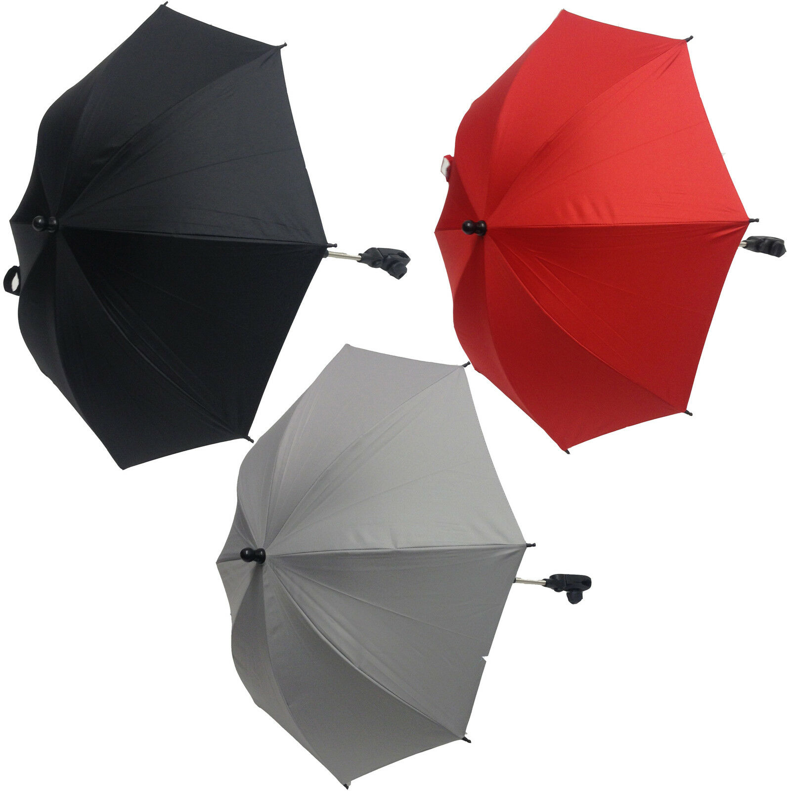 Black For-Your-Little-One Parasol Compatible with BabyStyle Oyster