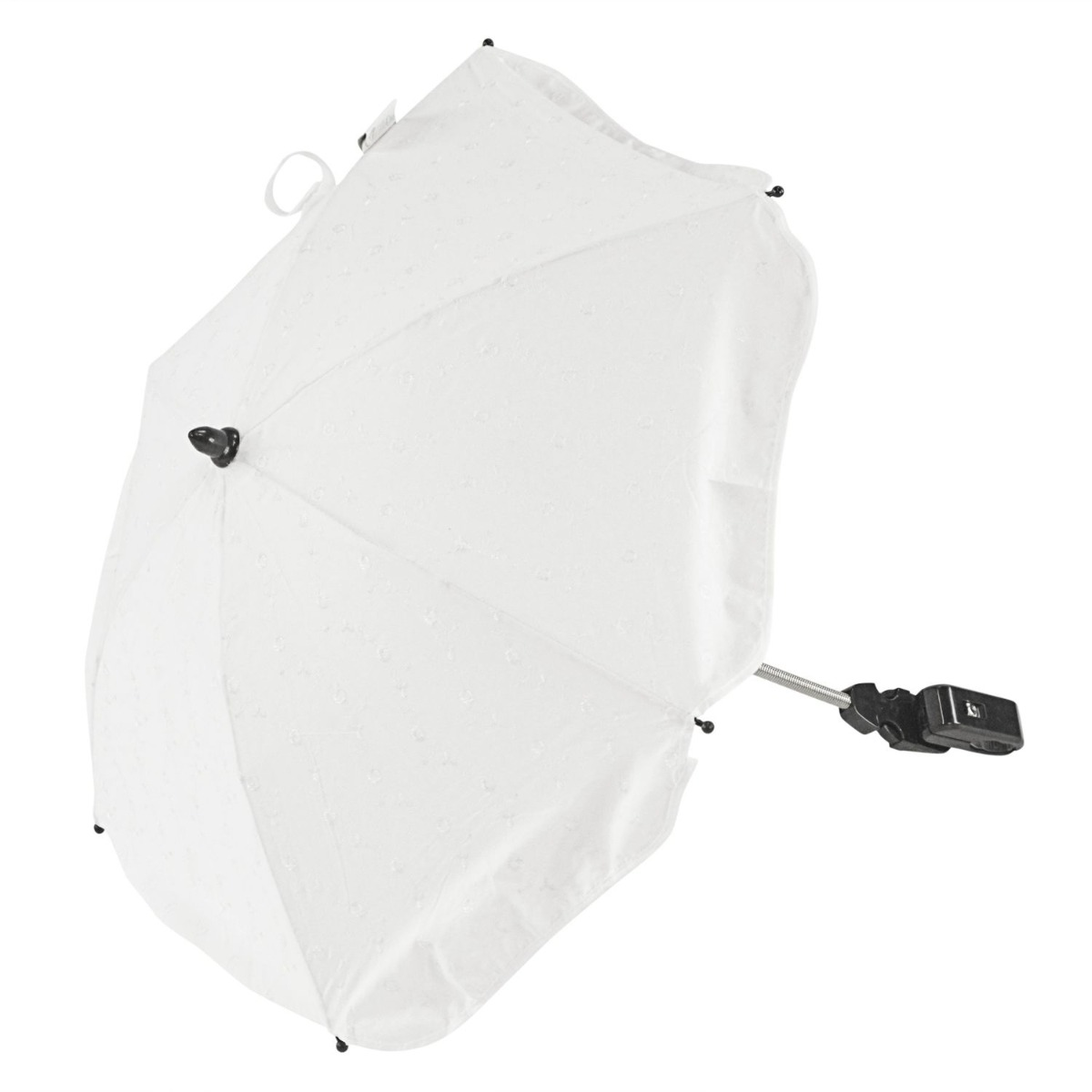 Broderie Anglaise Parasol Compatible with Bebecar Ip Op City White