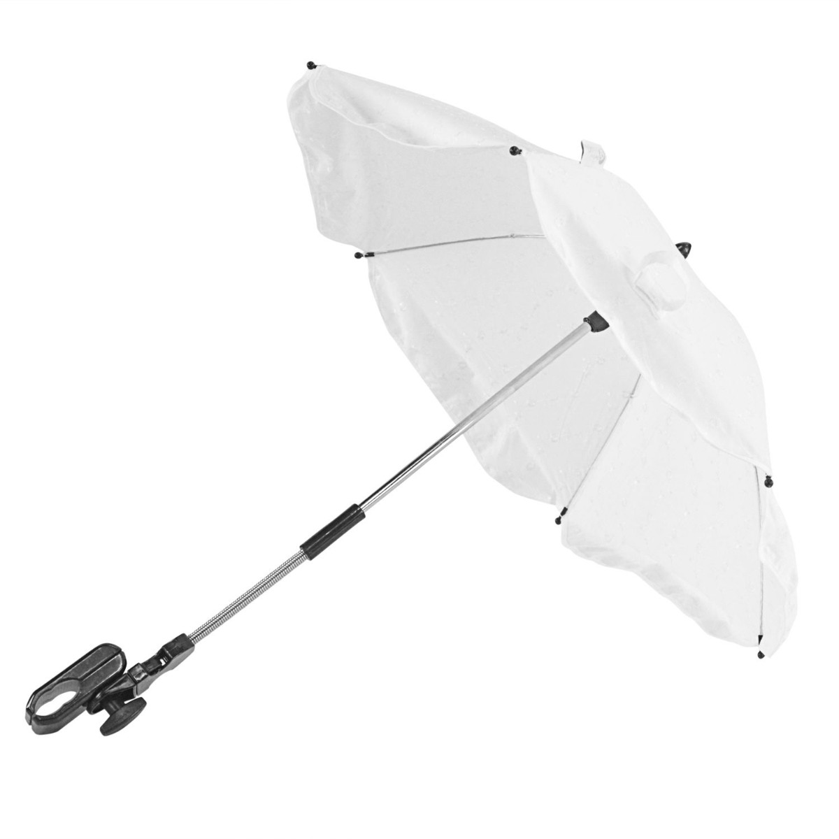 White Broderie Anglaise Parasol Compatible with Icandy Lime
