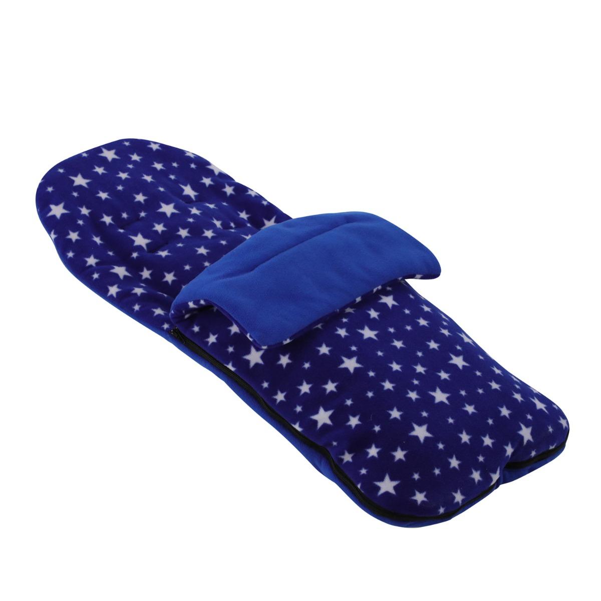 Black Star Cosy Toes Compatible with Venicci Shadow Fleece Footmuff