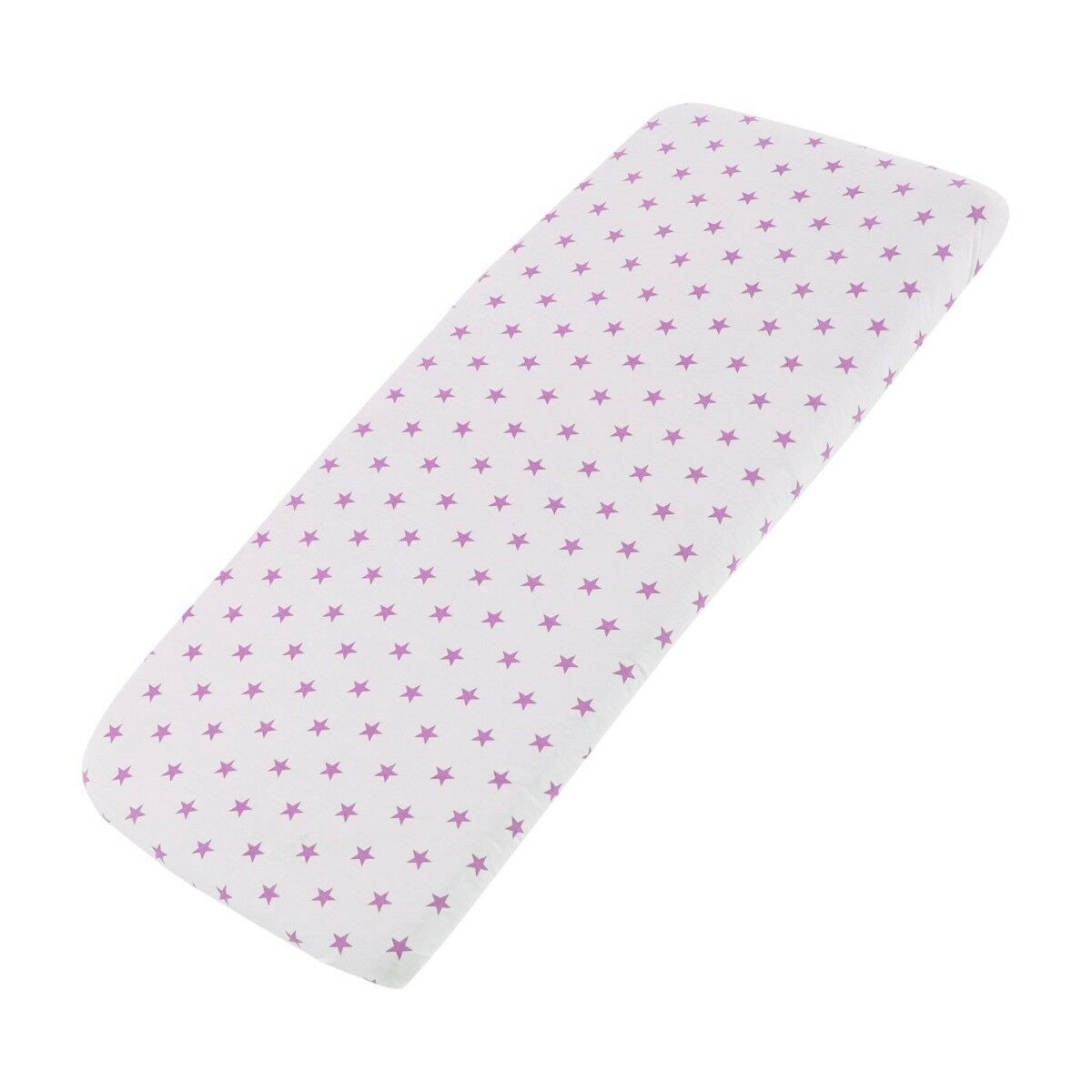 Cot-Bed-Jersey-Fitted-Sheet-100-Cotton-Pack-Of-2 thumbnail 25