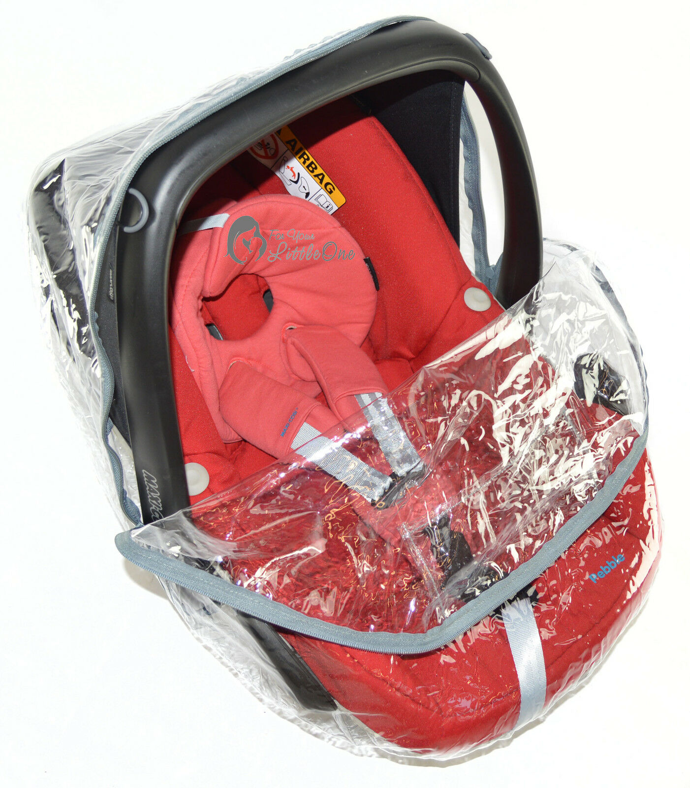 Universal-Raincover-For-Buggy-Pushchair-Car-Seat-Double-Buggy-Carrycot-Twin thumbnail 5