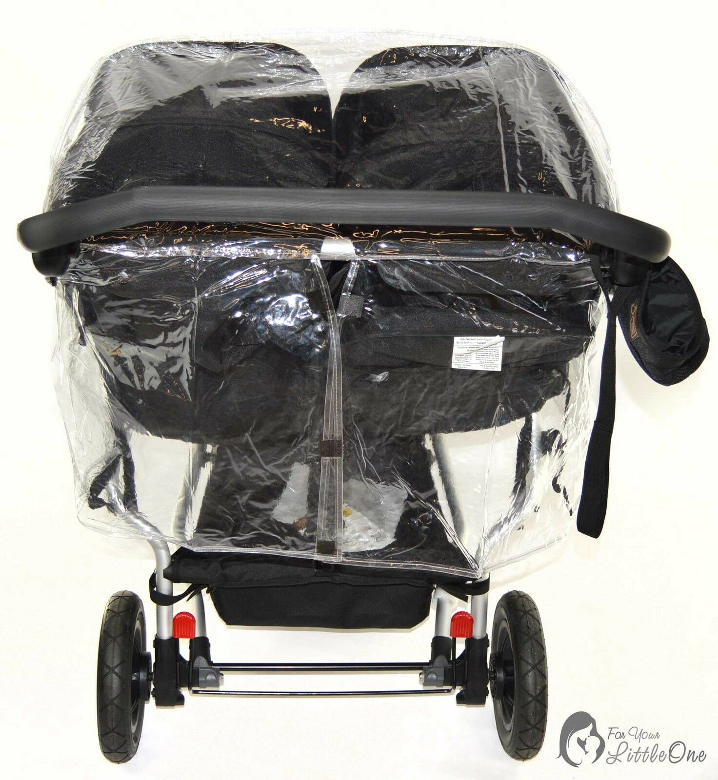 Universal-Raincover-For-Buggy-Pushchair-Car-Seat-Double-Buggy-Carrycot-Twin thumbnail 20