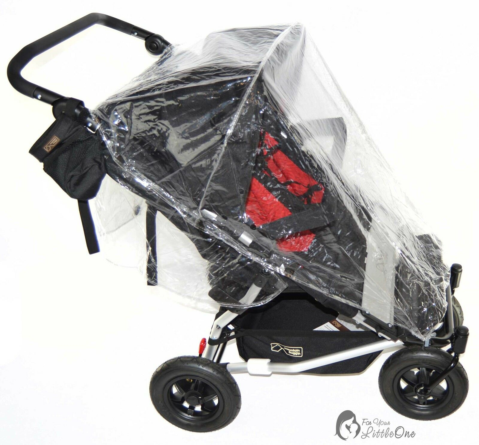 Universal-Raincover-For-Buggy-Pushchair-Car-Seat-Double-Buggy-Carrycot-Twin thumbnail 19