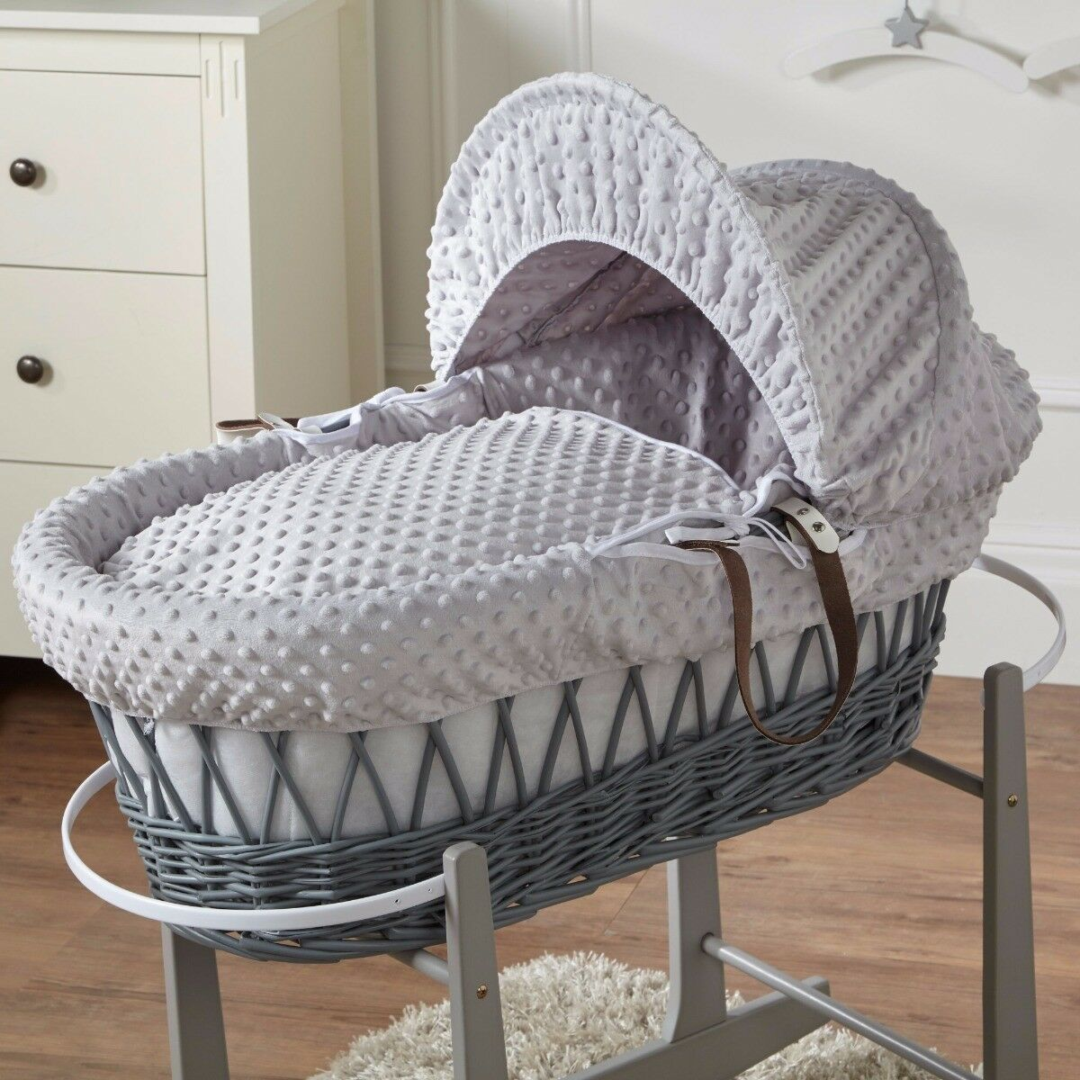 Moses Basket Jersey Fitted Sheet 100/% Cotton 76x28cm