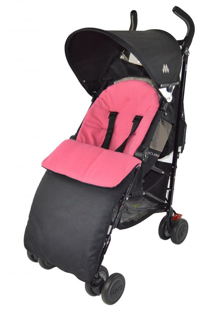 UNIVERSAL-FOOTMUFF-COSY-TOES-APRON-LINER-BUGGY-PRAM-STROLLER-BABY-TODDLER-NEW thumbnail 15