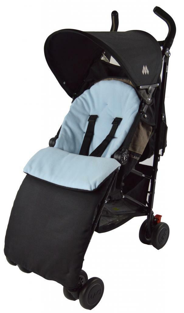 UNIVERSAL-FOOTMUFF-COSY-TOES-APRON-LINER-BUGGY-PRAM-STROLLER-BABY-TODDLER-NEW thumbnail 17