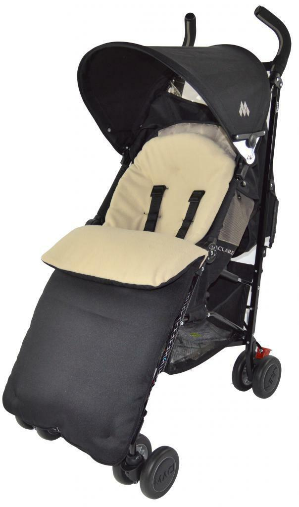 UNIVERSAL-FOOTMUFF-COSY-TOES-APRON-LINER-BUGGY-PRAM-STROLLER-BABY-TODDLER-NEW thumbnail 23
