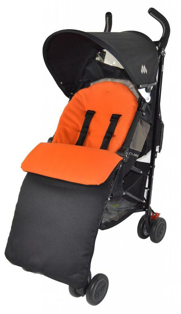 UNIVERSAL-FOOTMUFF-COSY-TOES-APRON-LINER-BUGGY-PRAM-STROLLER-BABY-TODDLER-NEW thumbnail 20