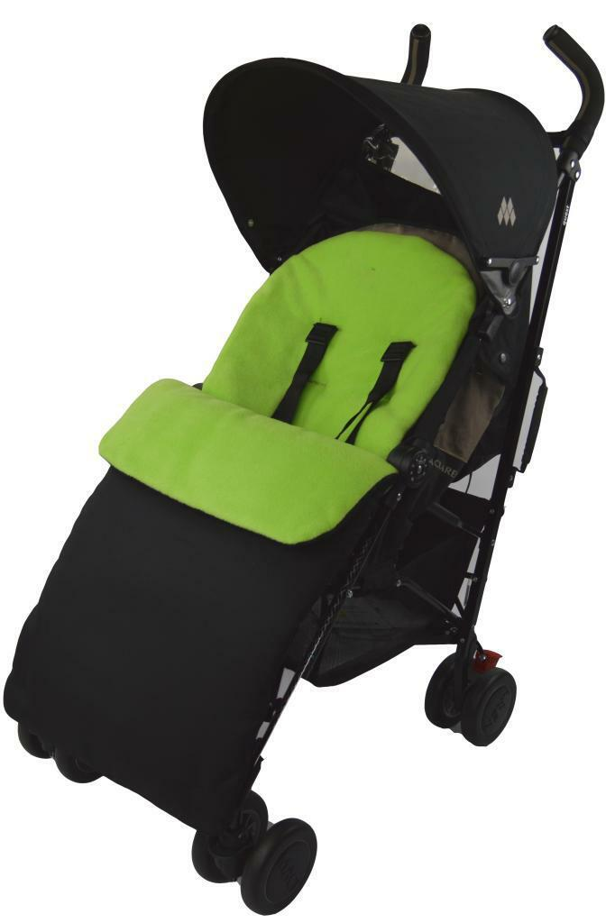UNIVERSAL-FOOTMUFF-COSY-TOES-APRON-LINER-BUGGY-PRAM-STROLLER-BABY-TODDLER-NEW thumbnail 19
