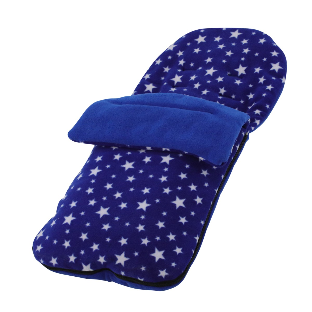 Light Blue Star Snuggle Summer Footmuff Compatible With iCandy Peach