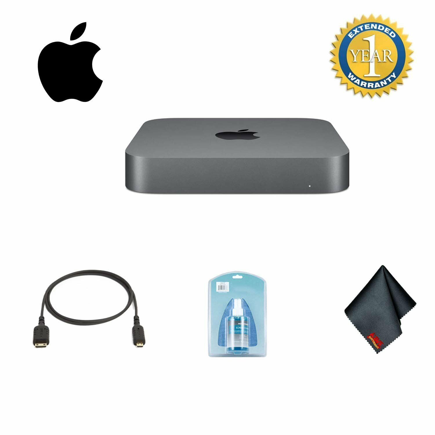 Apple Mac Mini Late 2018 Model MRTT2LL/A 256GB SSD Bundle 1