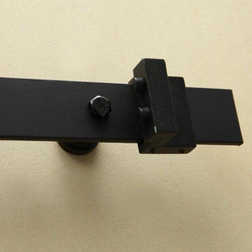 1-83-2-2-4-3-3-6-4M-Antique-Classic-Sliding-Barn-Door-Hardware-Track-Roller-Kit thumbnail 26