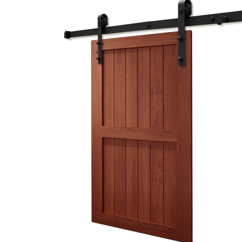 1-83-2-2-4-3-3-6-4M-Antique-Classic-Sliding-Barn-Door-Hardware-Track-Roller-Kit thumbnail 19