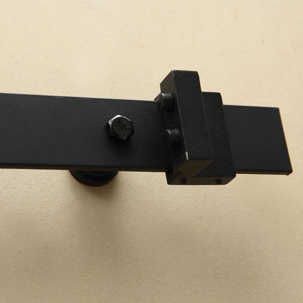 1-83-2-2-4-3-3-6-4M-Antique-Classic-Sliding-Barn-Door-Hardware-Track-Roller-Kit thumbnail 16