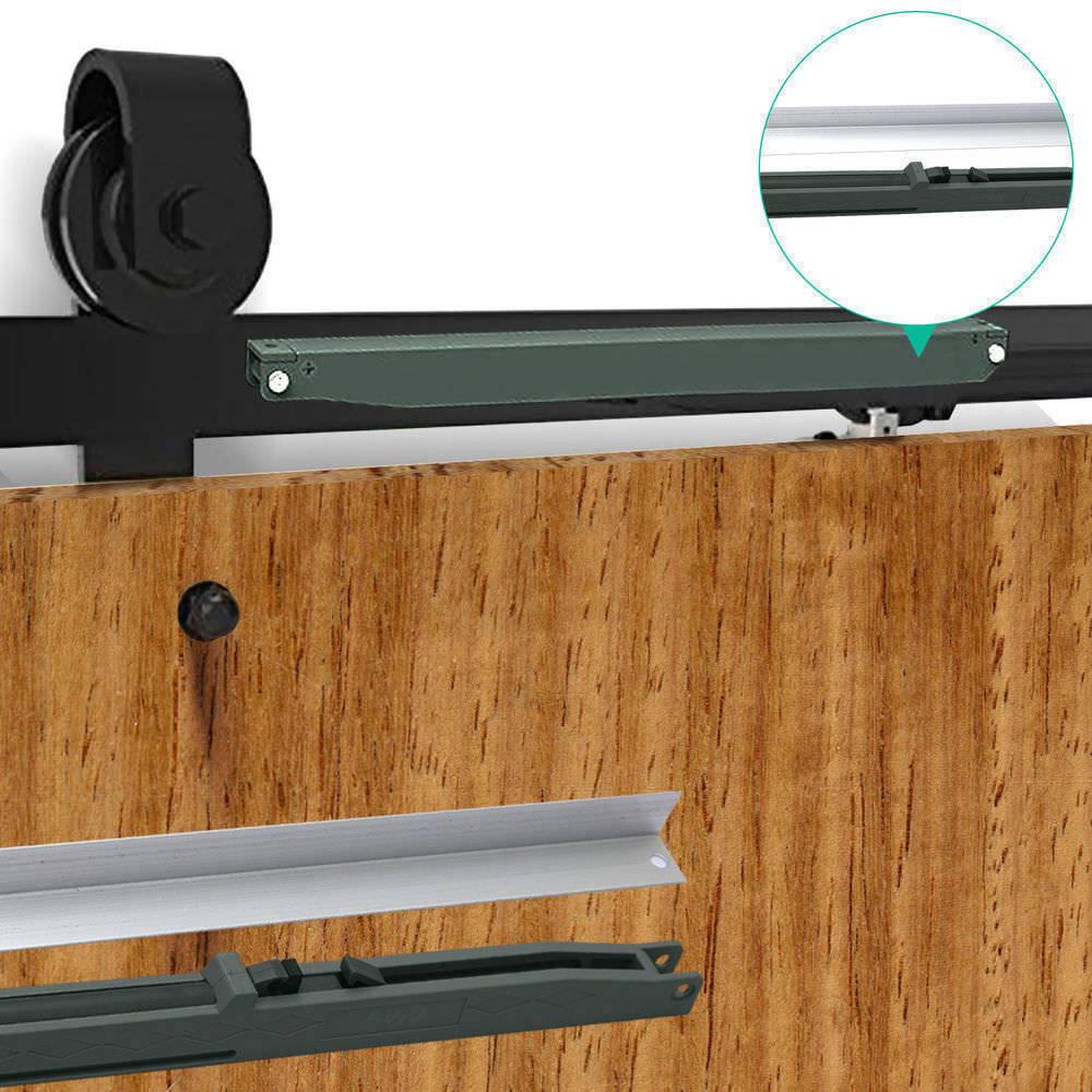 1-83-2-2-4-3-3-6-4M-Antique-Classic-Sliding-Barn-Door-Hardware-Track-Roller-Kit thumbnail 101