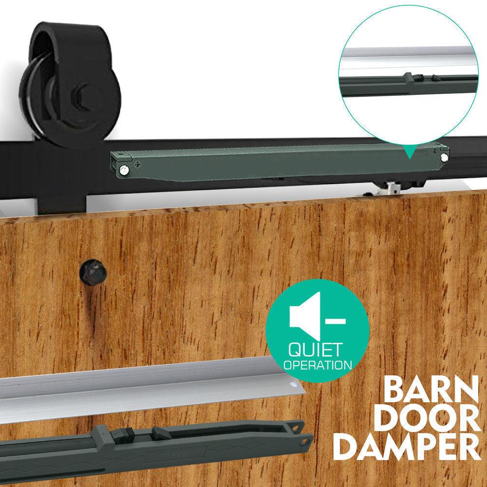 1-83-2-2-4-3-3-6-4M-Antique-Classic-Sliding-Barn-Door-Hardware-Track-Roller-Kit thumbnail 92