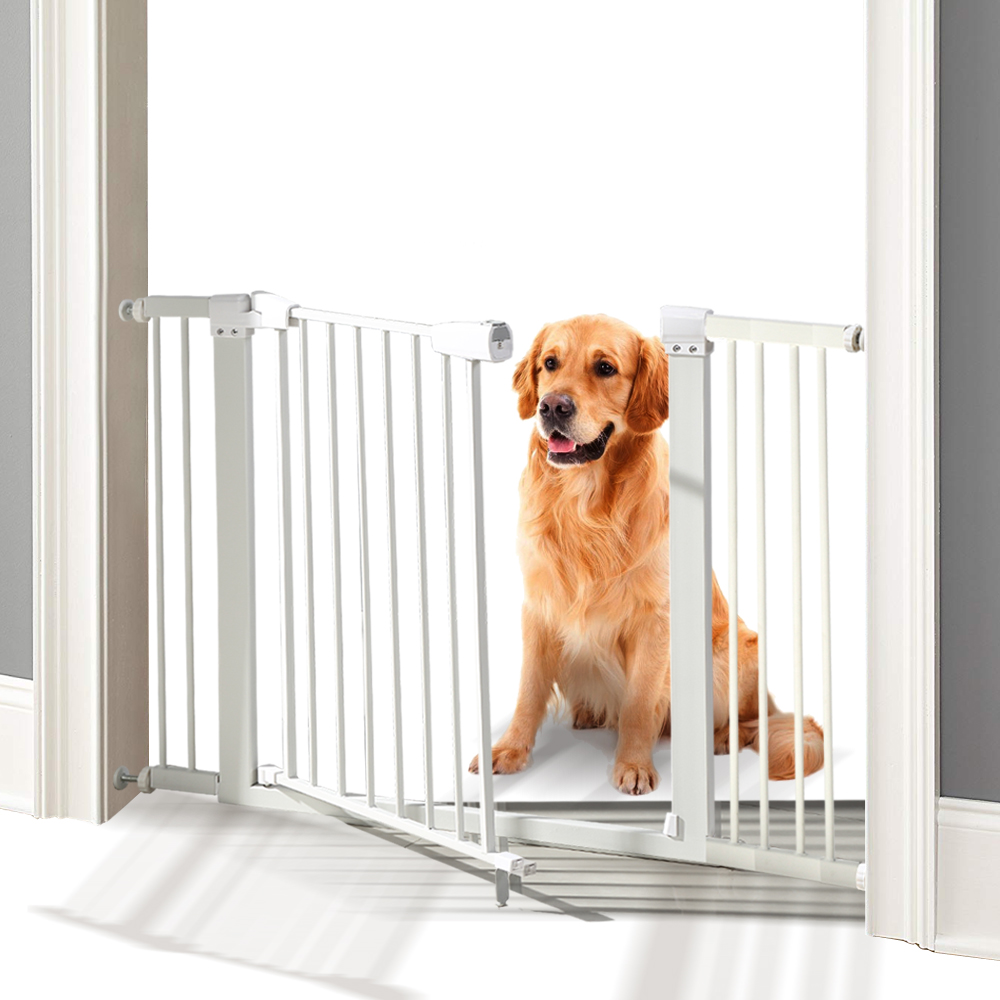 76cm-Tall-Baby-Kids-Pet-Safety-Security-Gate-Wide-Adjustable-Stair-Barrier-Door thumbnail 24