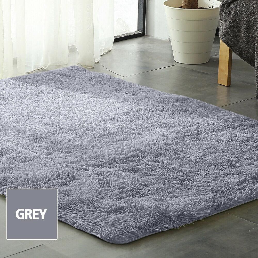 Floor-Rug-Shaggy-Carpet-Area-Rugs-Living-Room-Mat-Bedroom-Soft-Mats-Extra-Large thumbnail 86