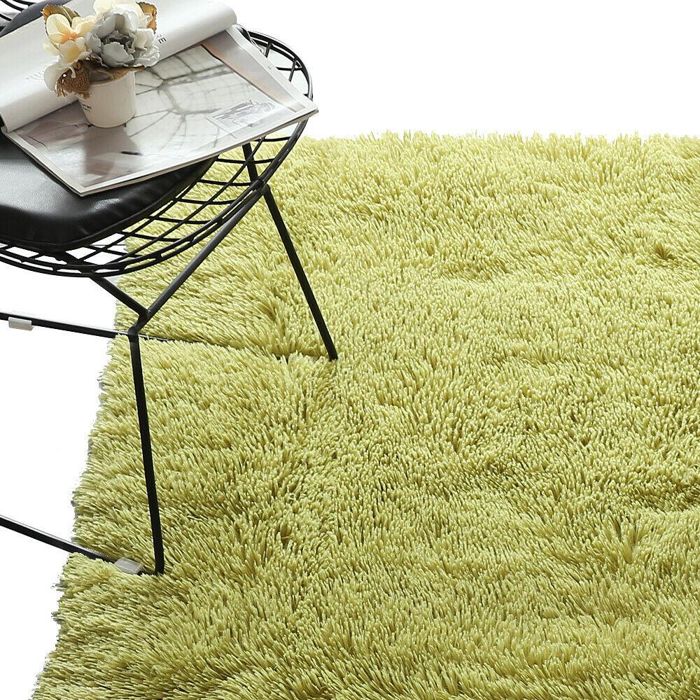 Floor-Rug-Shaggy-Carpet-Area-Rugs-Living-Room-Mat-Bedroom-Soft-Mats-Extra-Large thumbnail 89