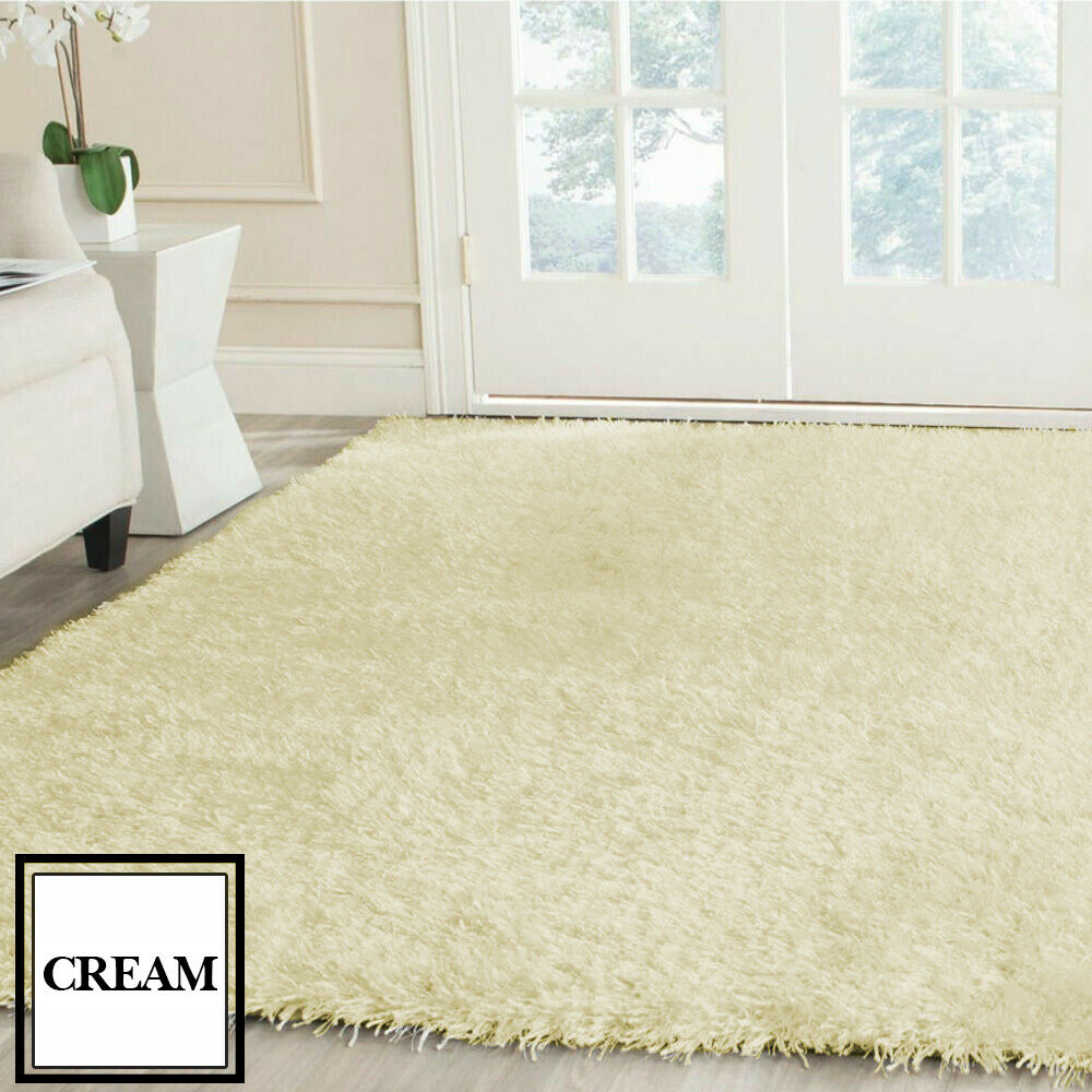 Floor-Rug-Shaggy-Carpet-Area-Rugs-Living-Room-Mat-Bedroom-Soft-Mats-Extra-Large thumbnail 110