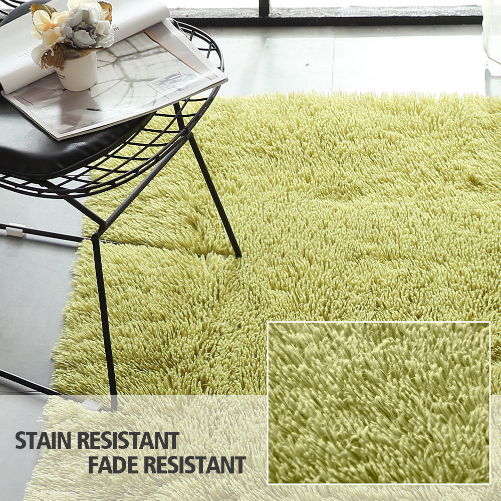 Floor-Rug-Shaggy-Carpet-Area-Rugs-Living-Room-Mat-Bedroom-Soft-Mats-Extra-Large thumbnail 101