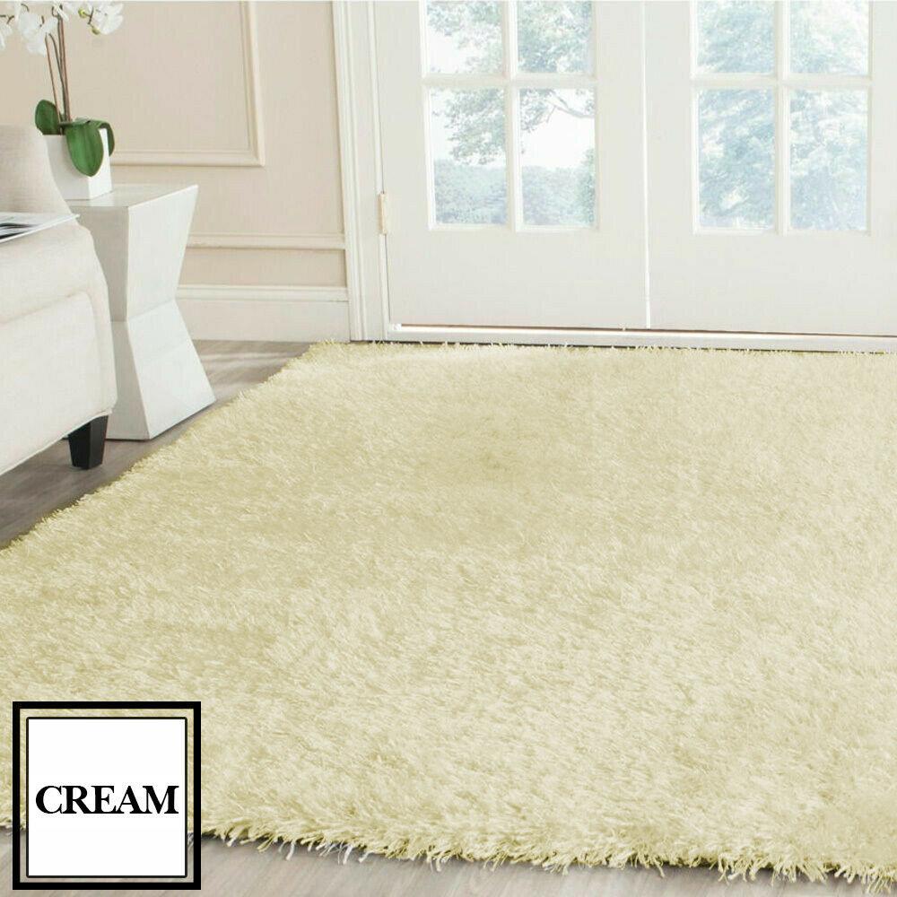 Floor-Rug-Shaggy-Carpet-Area-Rugs-Living-Room-Mat-Bedroom-Soft-Mats-Extra-Large thumbnail 122