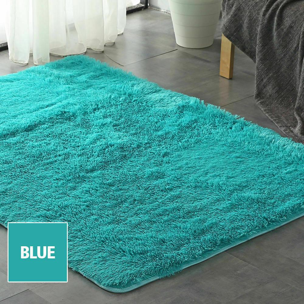 Floor-Rug-Shaggy-Carpet-Area-Rugs-Living-Room-Mat-Bedroom-Soft-Mats-Extra-Large thumbnail 121