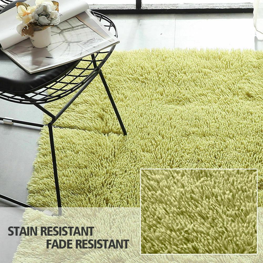 Floor-Rug-Shaggy-Carpet-Area-Rugs-Living-Room-Mat-Bedroom-Soft-Mats-Extra-Large thumbnail 113