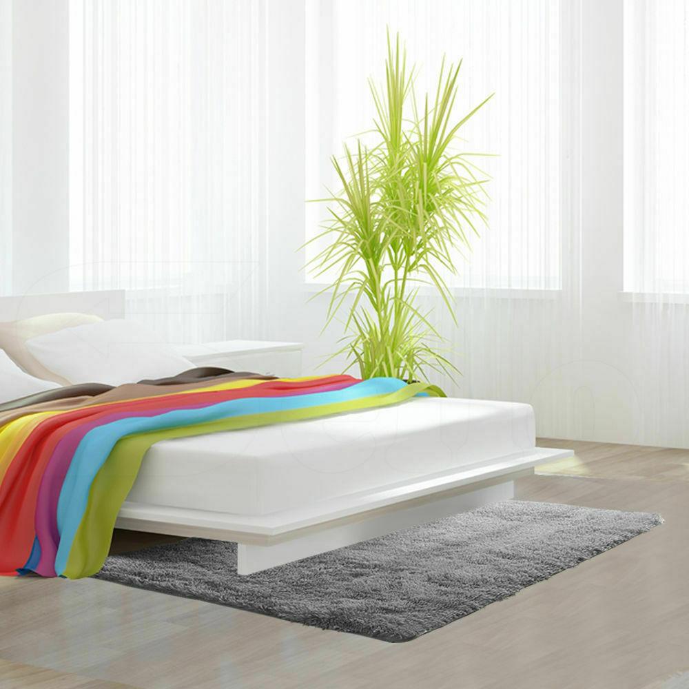 Floor-Rug-Shaggy-Carpet-Area-Rugs-Living-Room-Mat-Bedroom-Soft-Mats-Extra-Large thumbnail 117