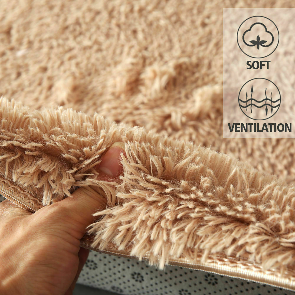 Floor-Rug-Shaggy-Carpet-Area-Rugs-Living-Room-Mat-Bedroom-Soft-Mats-Extra-Large thumbnail 138