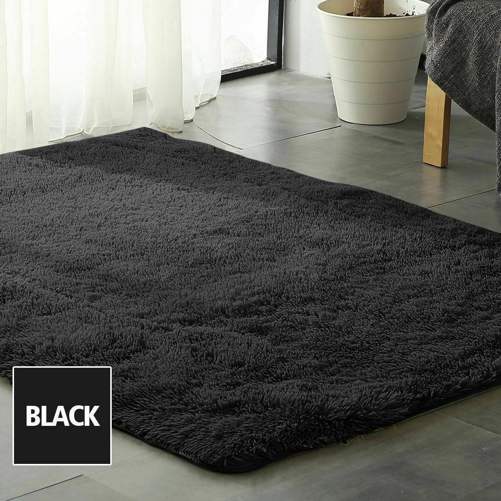 Floor-Rug-Shaggy-Carpet-Area-Rugs-Living-Room-Mat-Bedroom-Soft-Mats-Extra-Large thumbnail 143