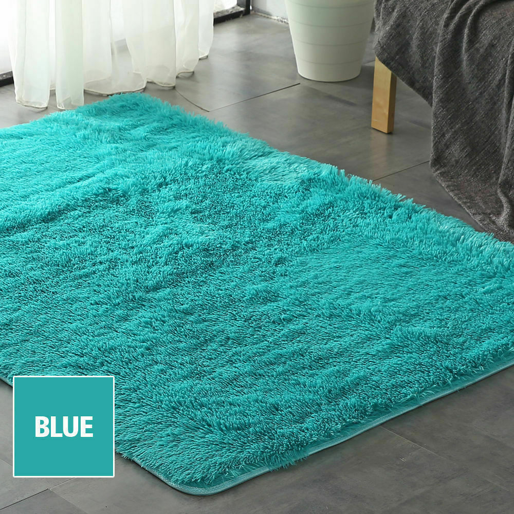 Floor-Rug-Shaggy-Carpet-Area-Rugs-Living-Room-Mat-Bedroom-Soft-Mats-Extra-Large thumbnail 144